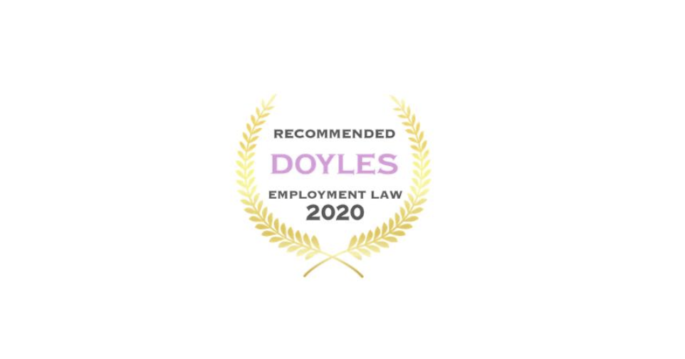 Doyles Recommended Employment 2020