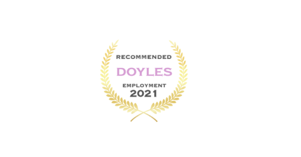 Doyles Recommended Employment 2021